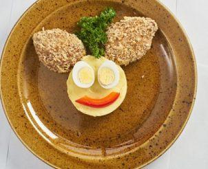 Мясные котлетки с картофельным пюре